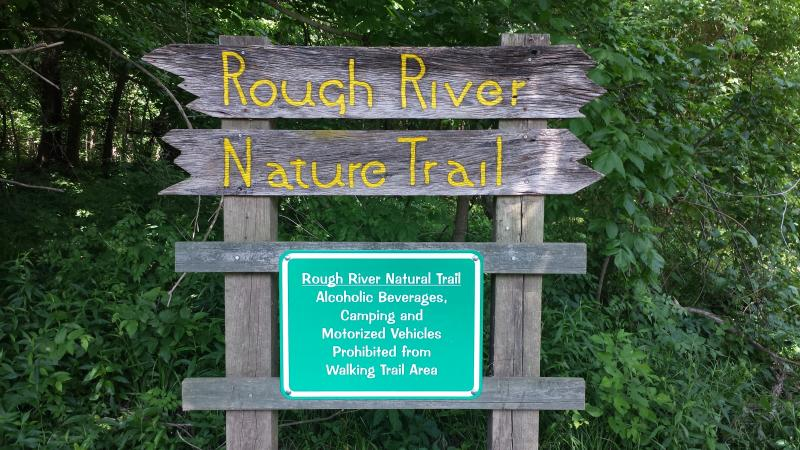 Rough River Nature Trail Signage