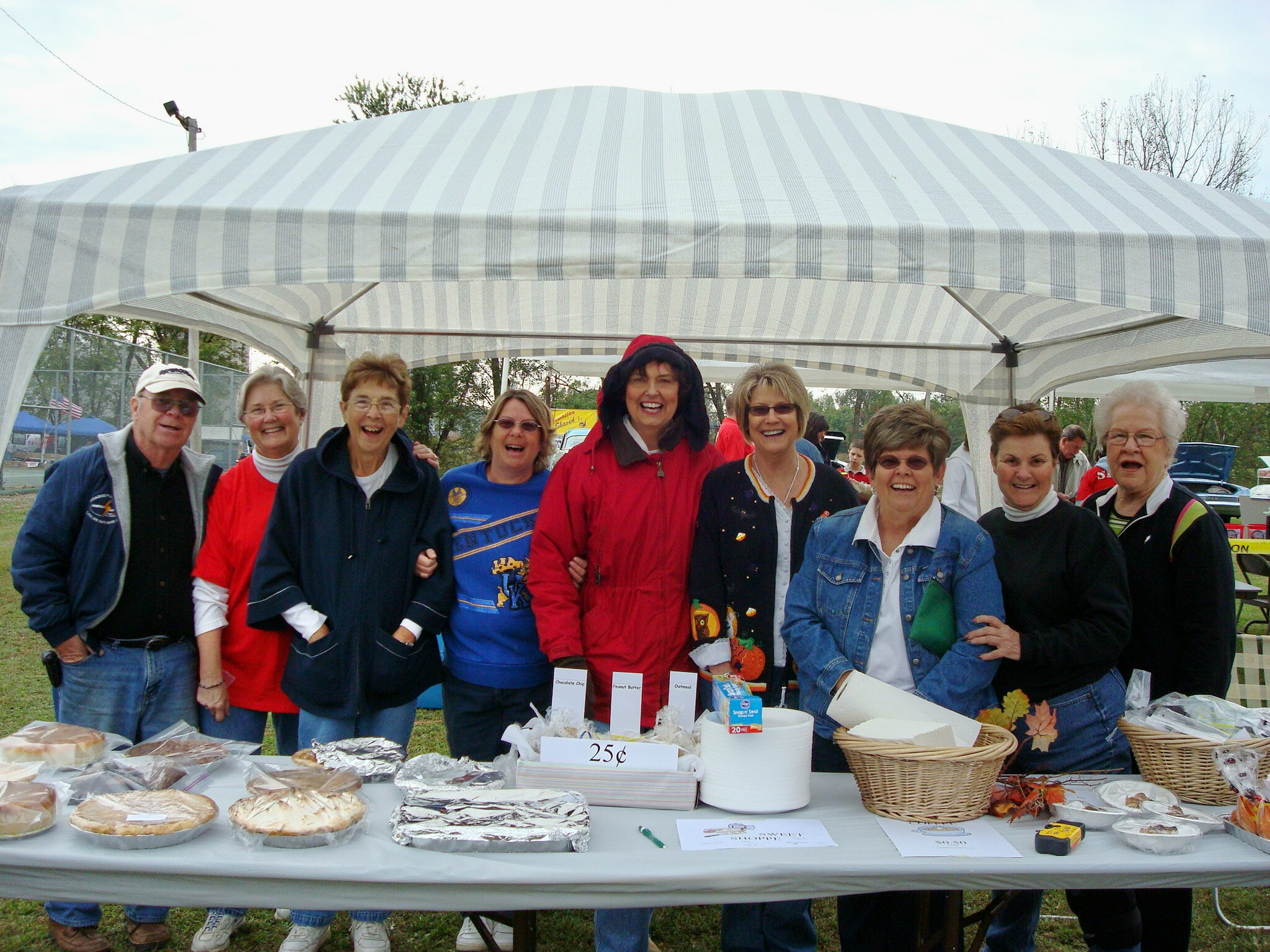 Some members of the Livermore Woman's Club at the Livermore Riverfest