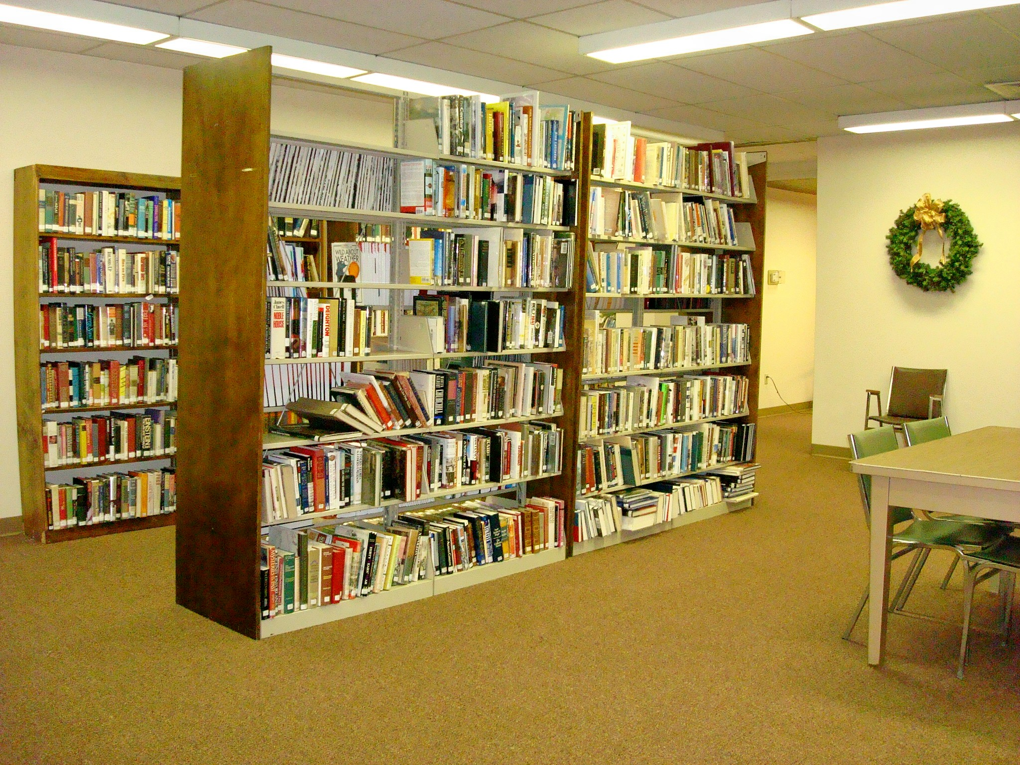 Refurbished Book Shelving