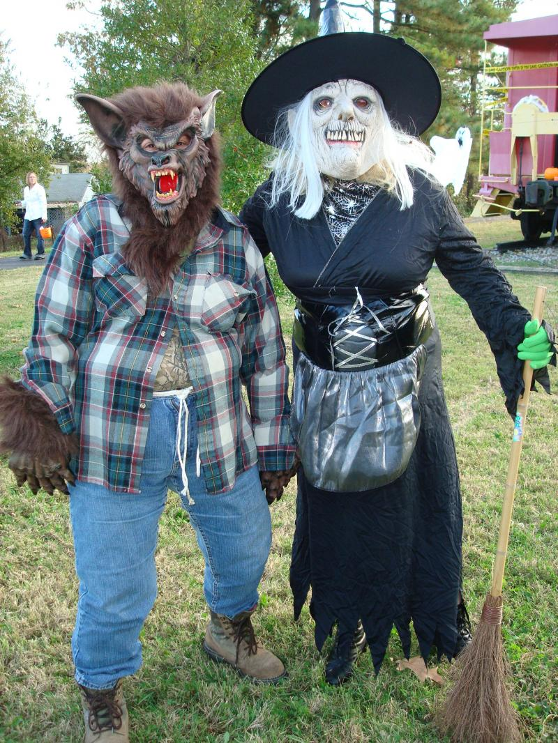Werewolf & Witch