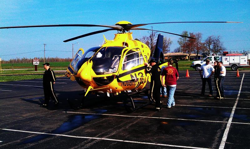 PHI Air Medical 6 Helicopter out of Greenville, KY