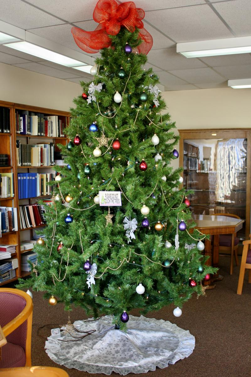 Library Tree on main floor