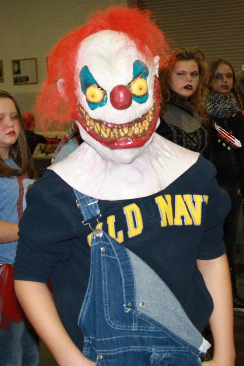 "11-15 Year Category: Ugliest: ""Clown"" - Colt Rickard"