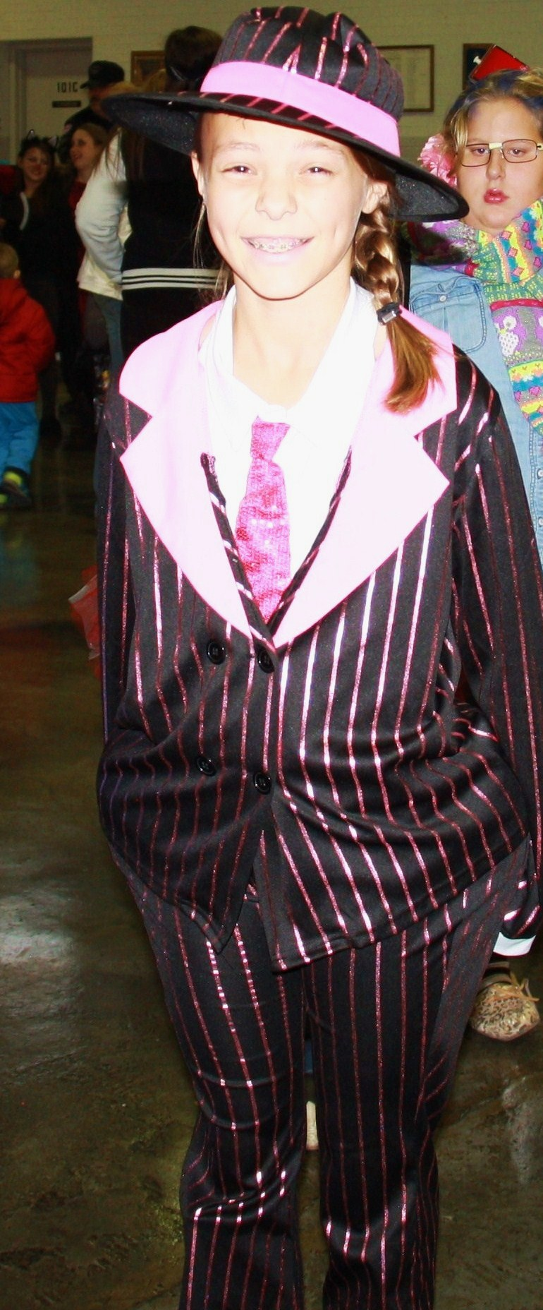 "11-15 Year Category: Most Original: ""Zoot Suit"" - Jalee Pinkston"