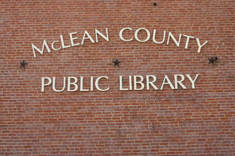 New Signage at McLean County Public Library