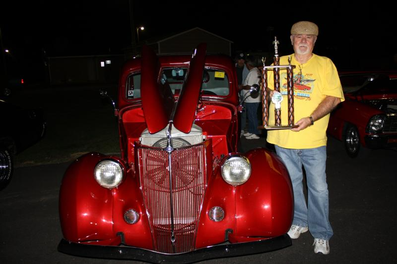 People's Choice Award, Car #9, 1936 Ford Coupe owned by Ron Swindle
